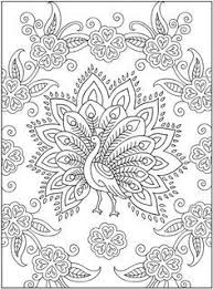 Small Picture Peacock Coloring Pages For Adults Peacock Color Page 14469