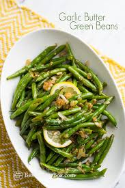green bean recipe. Exellent Bean Garlic Butter Green Beans Recipe  Bestrecipebox For Bean I