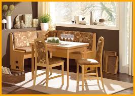 Astonishing Leather Breakfast Nook Furniture Corner Dining Table And