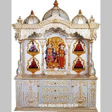 wooden temple for pooja mandir from india
