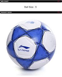Soccer Ball Size Chart Li Ning Puebla Club Professional Soccer T800 Official Size 5 Pvc Training Football Lining Sports Soccers Afqn014 Zyf236