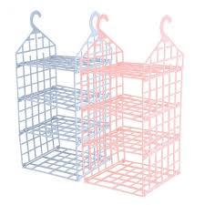 new 3 layer hanging wardrobe storage rack clothes underwear holder closet organizer shelves zmzy11370