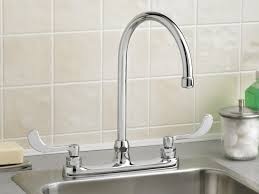 Lowes Kitchen Faucets Delta Image 4 Delta Chrome Kitchen Faucet Single Handle