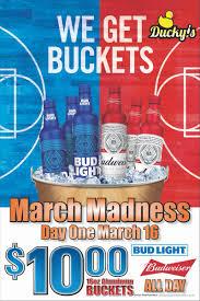 March Madness Bud Light