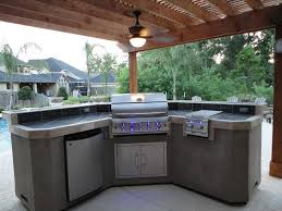 Best Backyard Kitchen Designs And Photos - Outdoor kitchen designs with pool