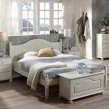 Richmond Bedroom Furniture Range Richmond White Double Bed 4ft6 Bedroom Furniture Direct