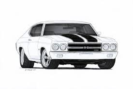 1970 chevrolet chevelle ss pro touring drawing by vertualissimo on 1970 chevrolet chevelle ss pro touring drawing by vertualissimo on cool art chevrolet chevelle cars and chevrolet