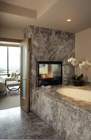 granite bath tub surround wall and riser