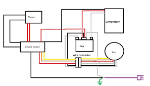 wiring my ac unit for a walk in cooler home brew forums Walk-In Cooler Wiring-Diagram with Defroster click image for larger version name untitled jpg views 11237 size 30 4 Diagram Electrical Wiring For A Walk In Cooler