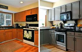 amazing painting kitchen cabinets black without sanding and for an picture furniture before after concept painted chalk paint trend