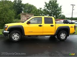 2005 Chevrolet Colorado Z71 Crew Cab in Yellow - 190252 ...