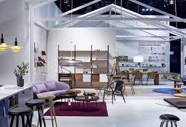 Exhibition At Danish Living Room Louis Poulsen