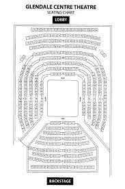 Glendale Centre Theatre Seating Chart Theater In The