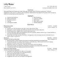 Resume For Clothing Store Sales Associate Sample Retail Sales