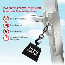Isi Safe Die Kindersicherung Für Fenster Ohne Bohren Amazonde