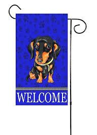 dachshund garden flag dachshund dog garden flag dachshund holiday garden flags