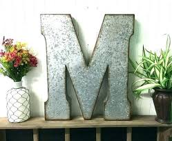 large letters for wall initial letter wall decor large metal letters for wall decor entrancing letters