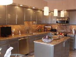 under cabinet lighting placement. Great Drum Shade Kitchen Lighting Over Grey Small Island And Cabinetry Set In Modern Decorating Ideas Under Cabinet Placement