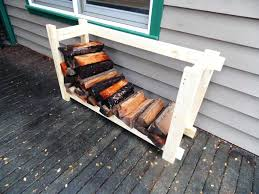 building a firewood rack firewood rack house outdoor design racks outstanding how to build a designing