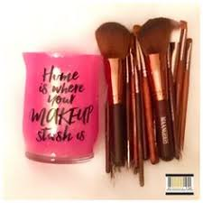 home is where your makeup stash is makeup brush holder