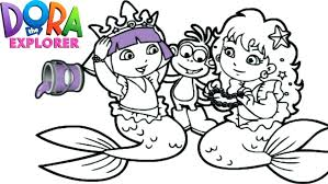 970x546 dora mermaid coloring pages mermaid coloring pages coloring pages