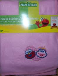 new sesame street fleece blanket baby shower elmo