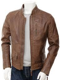 brown leather jacket mens biker leather jacket in brown bellever front wjmdyzo