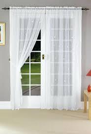 front door curtain panel100  Front Door Curtain Panel   Voile Door Panel 50 Panels