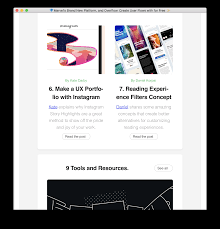 Best Sidebar Designs Design Report May 2018 Noteworthy The Journal Blog