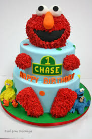 First Birthday Cakes Nj Elmo Custom Cakes 10 Sweet Grace Cake
