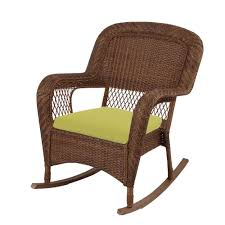 awesome martha stewart living charlottetown brown allweather wicker patio for outdoor rocking chairs home depot ideas