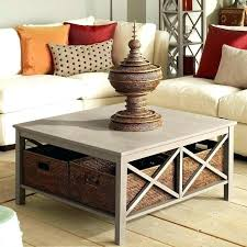 baskets under coffee table basket coffee table s large wicker basket coffee table basket coffee table