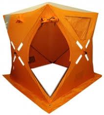 <b>Палатка Куб</b> для <b>зимней</b> рыбалки <b>WoodLand</b> ICE FISH 2 ...