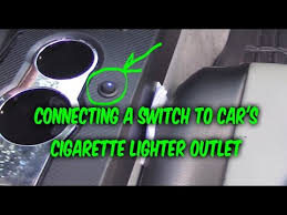 how to install wire 3 prong switch to car 12v power outlet how to install wire 3 prong switch to car 12v power outlet cigarette lighter port