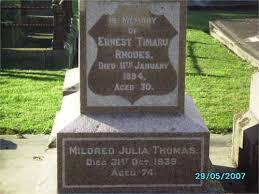The King's Candlesticks: Pedigrees Ernest Timaru RHODES of Levels [31613]