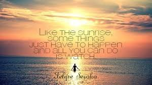 Sunrise Quotes Awesome Quotes About Sunrise Delectable Quotes About The Sunrise Gorgeous 48