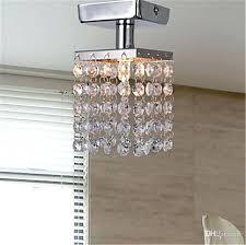 ceiling mount crystal chandelier mini semi flush mount in crystal chandelier modern chandeliers ceiling lamp crystal
