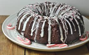 Triple Chocolate Peppermint Bundt Cake [Vegan]