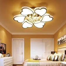 bright ceiling light romantic fashion led heart shaped ceiling lights led living room ceiling lamps high