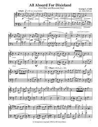 bassoon sheet music download digital sheet music for oboe bassoon duet