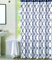 moroccan shower curtain max studio home percent cotton tile navy blue white lattice target