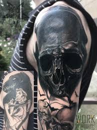 удаление татуировок путём перекрытия тату салон Playpain