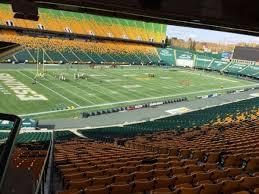Commonwealth Stadium Edmonton Section Z Home Of Edmonton