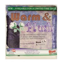Warm & Plush Queen Size ( 90  x 108 ) Batting - Discount Designer ... & zoom Warm & Plush Queen Size ( 90