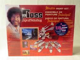 bob ross joy of painting master paint set