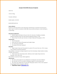 6 Educational Resume Format Cashier Resumes