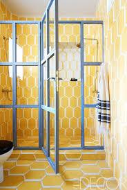 Yellow Bathroom Designs 15 Tiny Bathrooms With Major Chic Factor Yellow Bathrooms