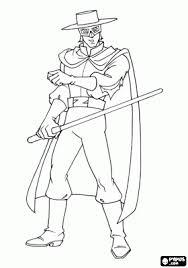 Zorro Da Colorare Per Bambini