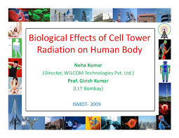 Mobile Radiation Chart India Biological Effects Of Cell Tower Radiation On Human Body