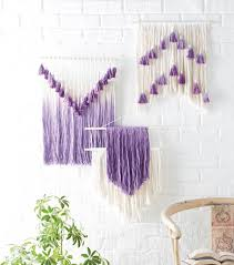 string dyed wall art